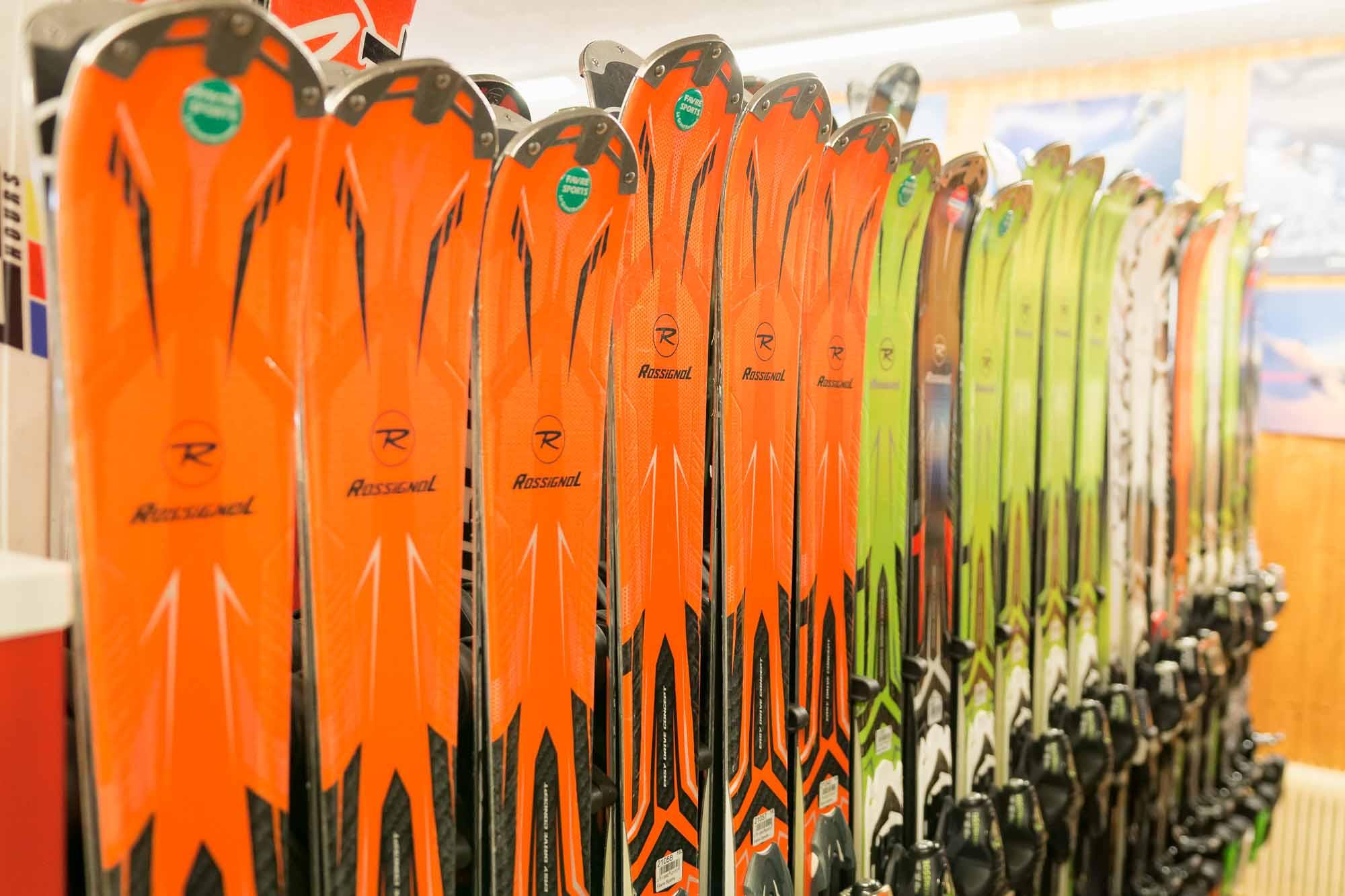 ski Rossignol location