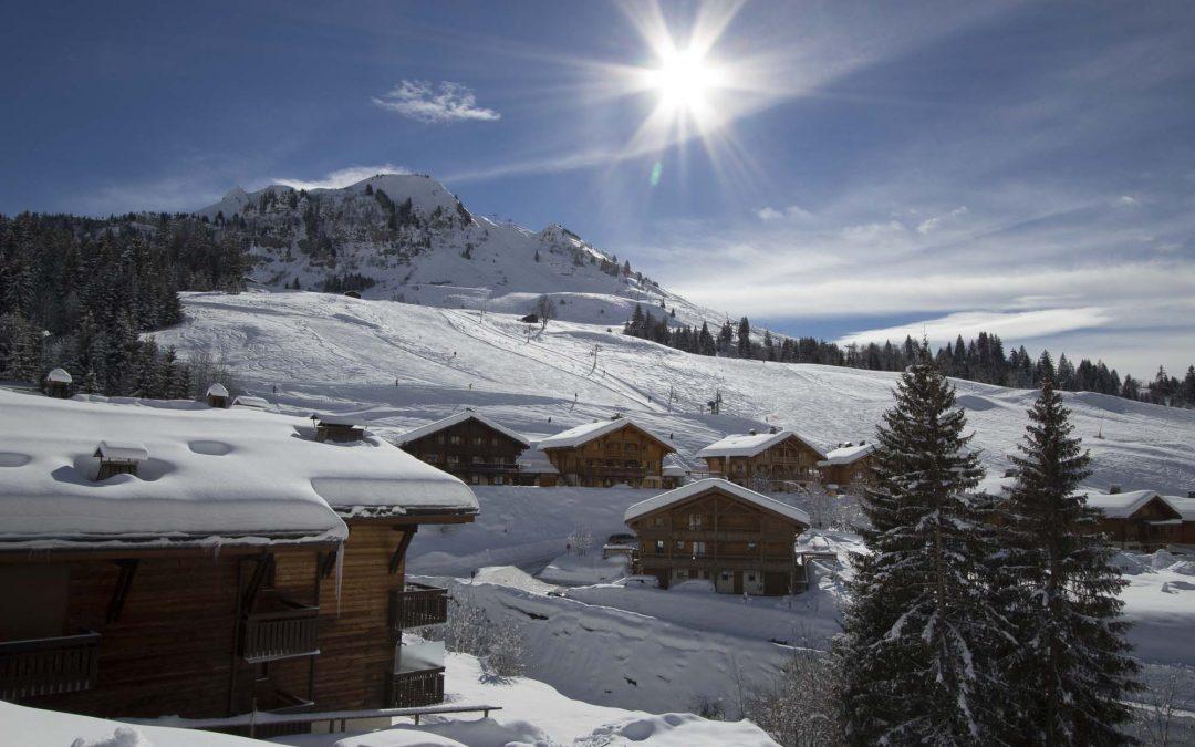 Grand Bornand ski lift opening december 2016